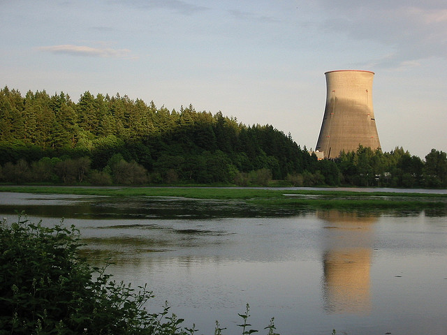 Nuclear plant looking lovely