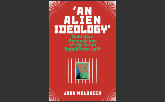 Front cover of the book 'An Alien Ideology'.